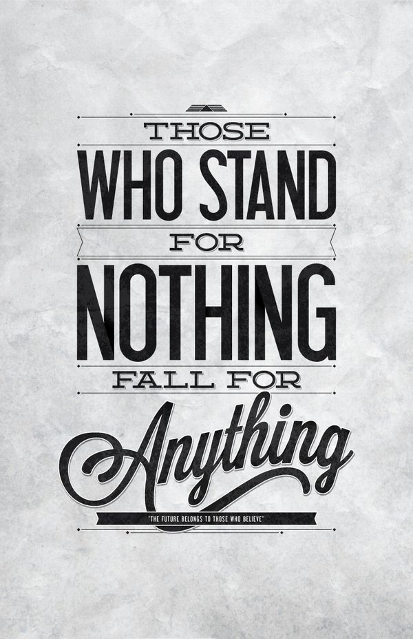 Stand Designs Quotes : Quotes about standing up for what you believe quotesgram