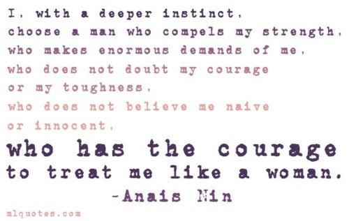 Anis Nin A Man Quotes. QuotesGram