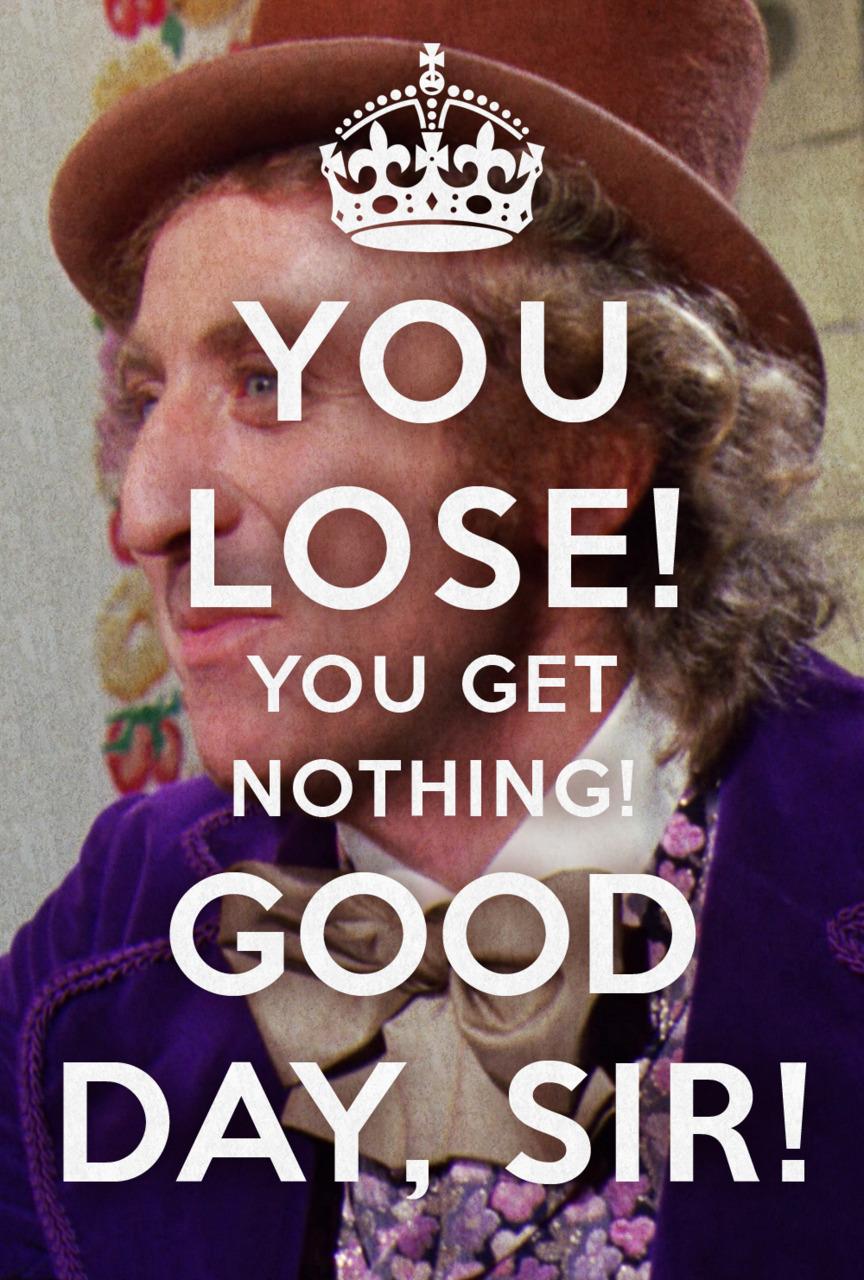 From Willy Wonka Movie Quotes. QuotesGram