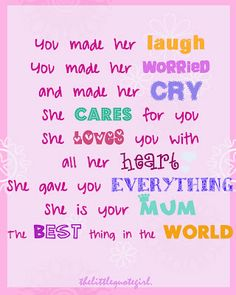 Cute Mom Quotes From Daughter Quotesgram