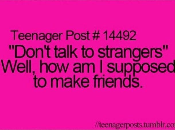 Teen Quotes Every Teenager Brb I Don T Want To Talk To: Teen Post Quotes. QuotesGram