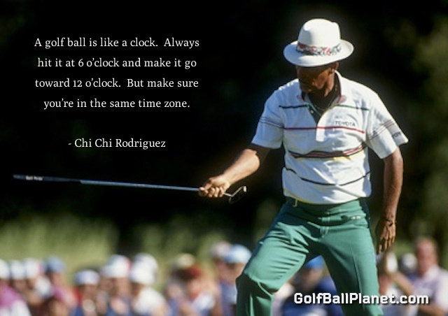 juan chi chi rodriguez Juan chi chi rodriguez the first puerto rican inducted into the world golf hall of fame, juan chi chi rodriguez was born in the town of rio piedras in 1935.