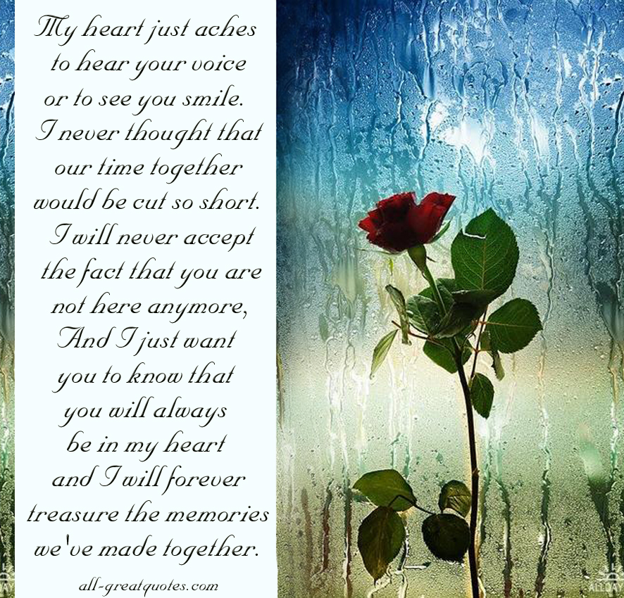 Sad I Miss You Quotes For Friends: In Memoriam Quotes For Mother. QuotesGram