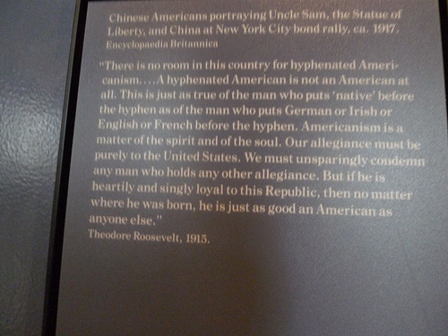 americanism by theodore roosevelt vs transnational america