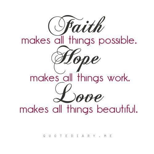 Love Hope Quote: Famous Quotes Faith Hope Love. QuotesGram