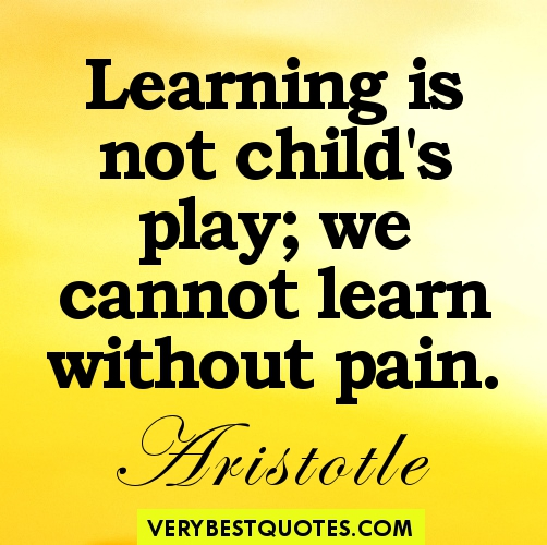 Inspirational Quotes About Play: Learning Quotes Inspirational. QuotesGram