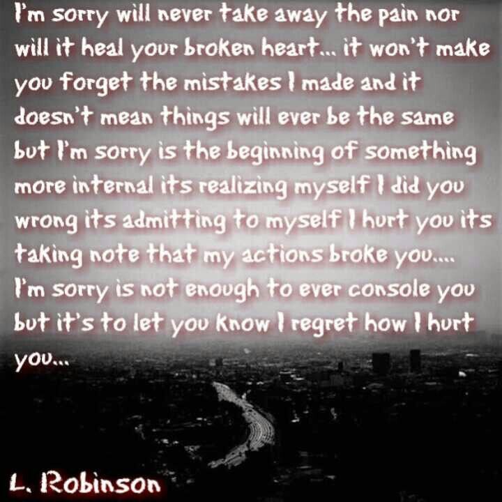 On cheated sorry you quotes i 35+ Cheating