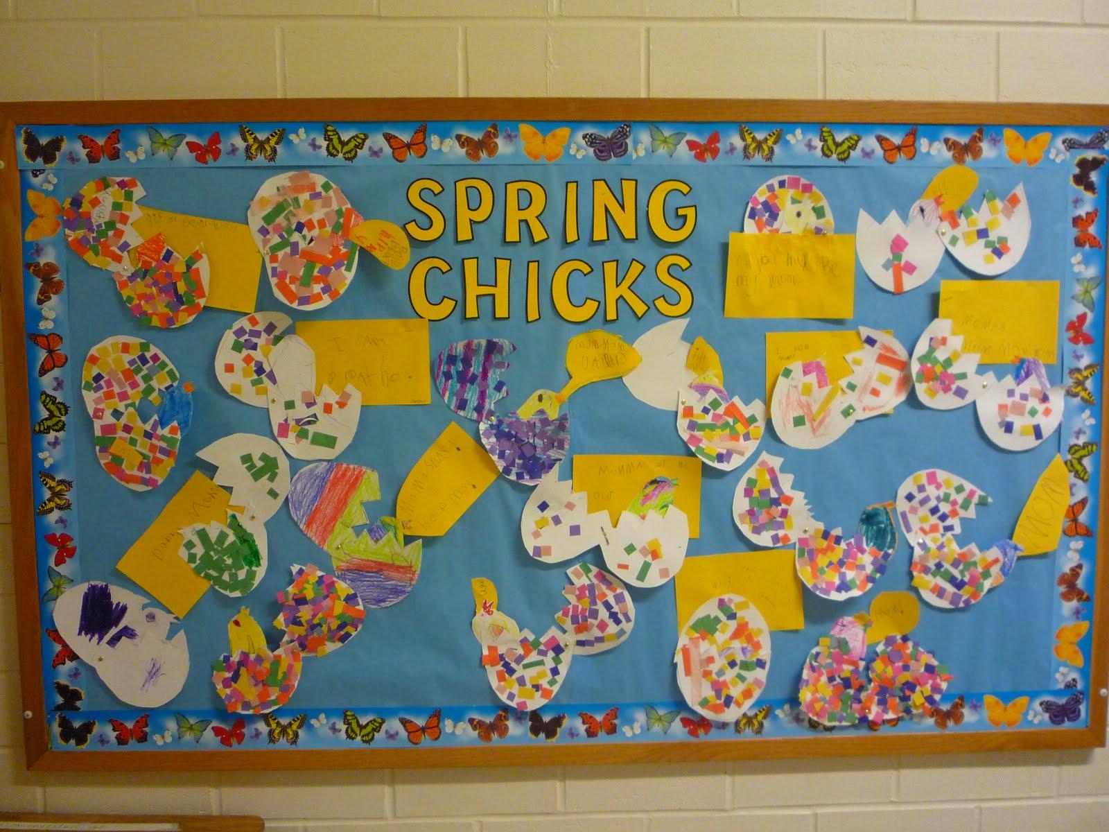 Cute Spring Bulletin Board Quotes Quotesgram