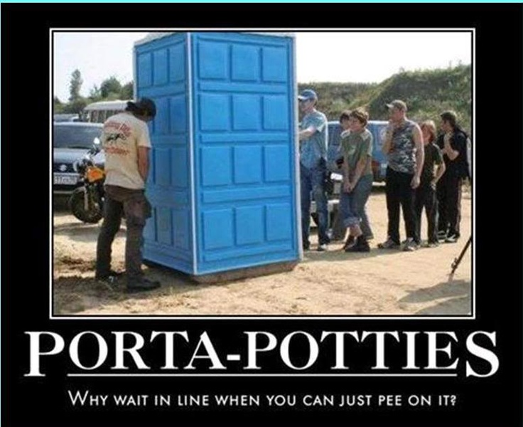 Porta potty funny quotes quotesgram for Porta quote scommesse