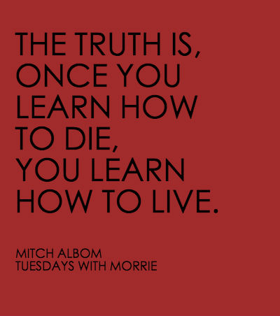 tuesdau with morrie Listening to mitch albom tell a story is like reading from a page in his new york times best-seller tuesdays with morrie: he speaks in a descriptive, telling tongue that takes you directly.