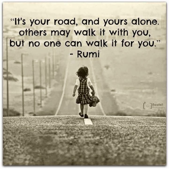 Inspirational Quotes About Walking With God: Walk Alone God Quotes. QuotesGram