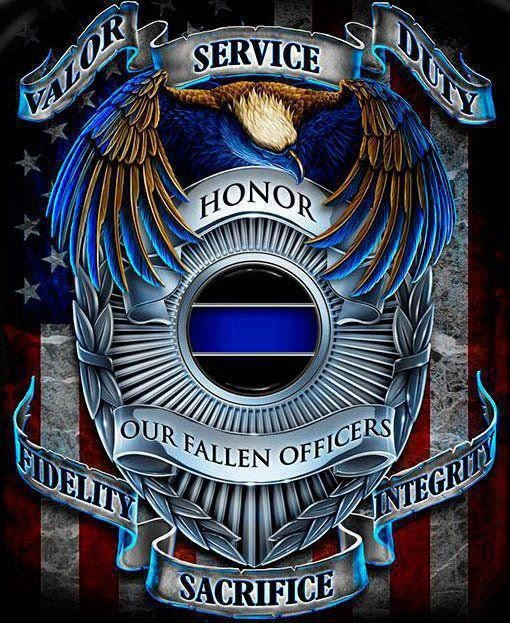 Tattoo Quotes Badges: Awesome Police Quotes. QuotesGram