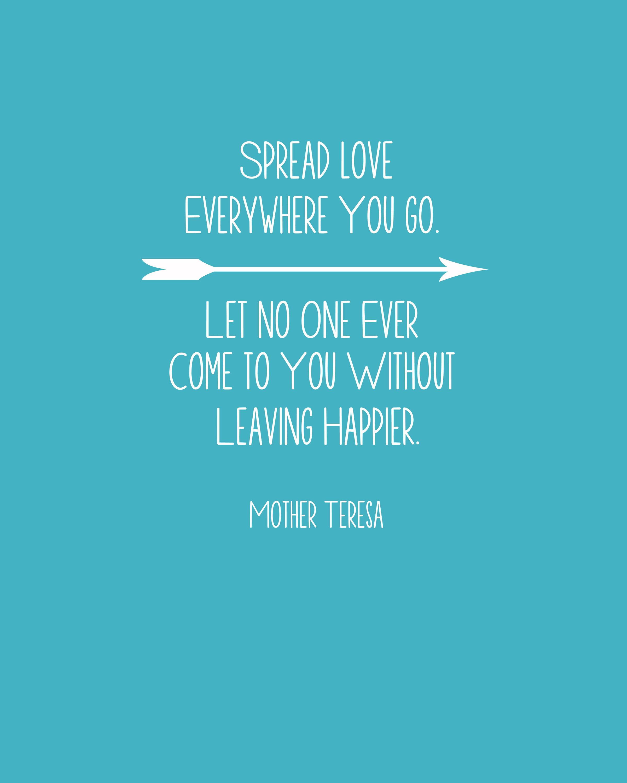 Spread Love Quotes. QuotesGram