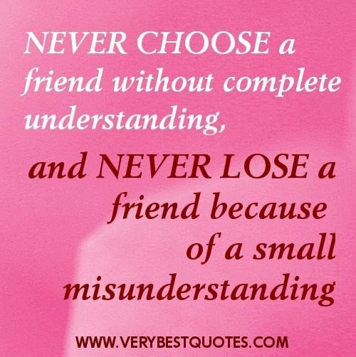 Photo Quotes About Friendship: Famous Quotes About True Friendship. QuotesGram