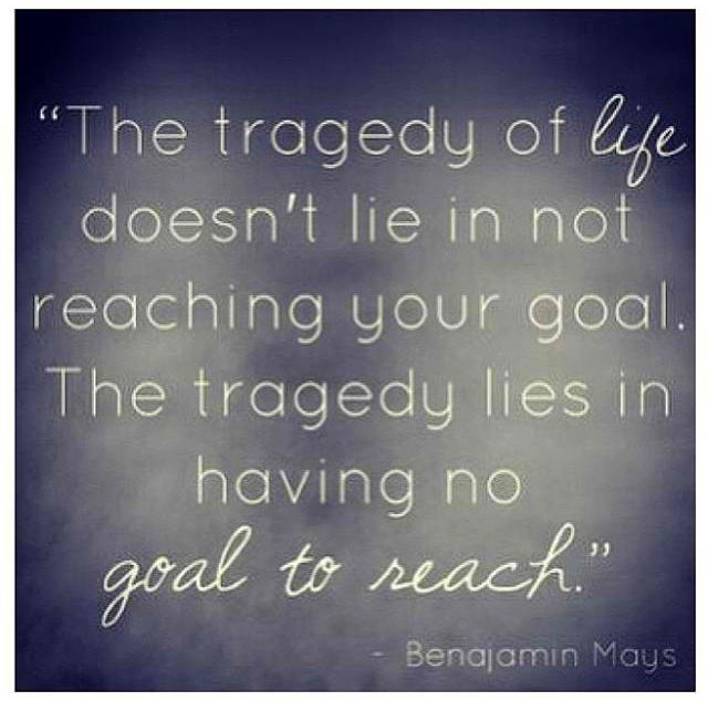 Tragedy Quotes: Benjamin Mays The Tragedy Of Life Quotes. QuotesGram