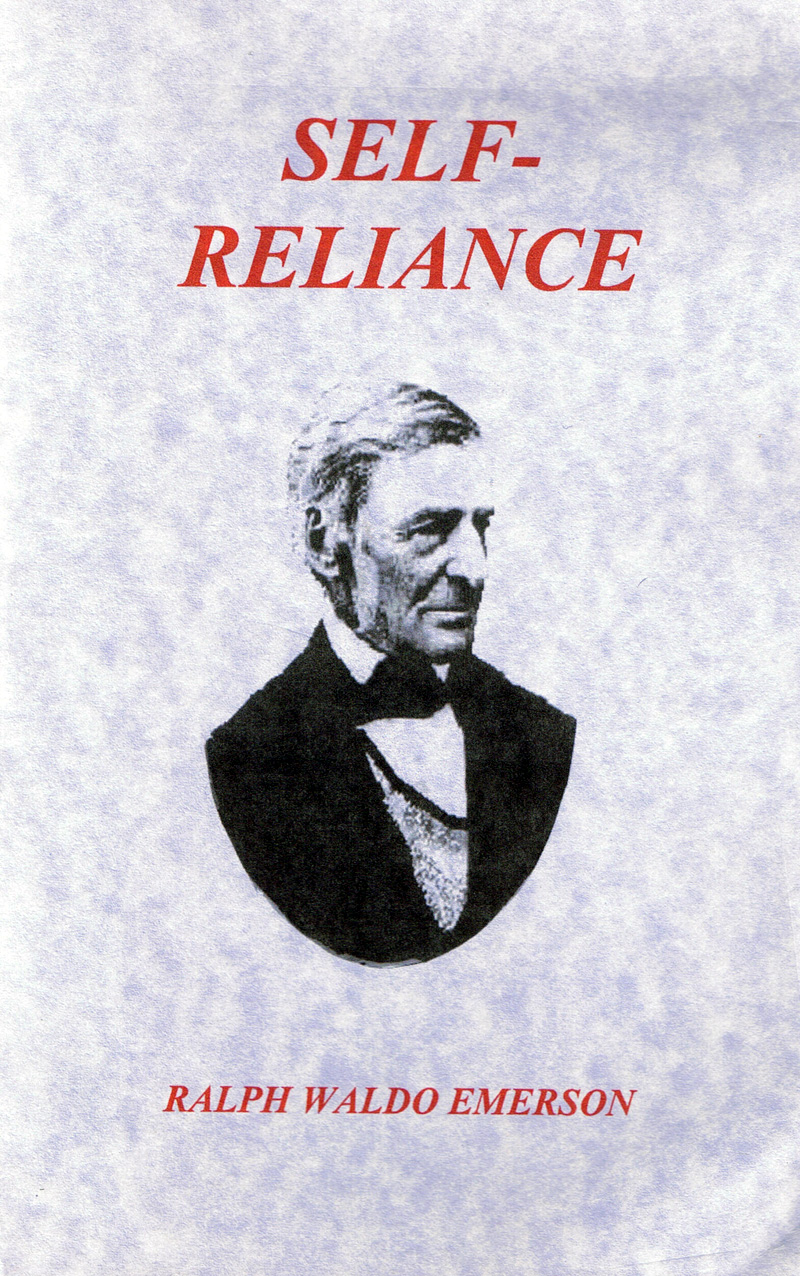 ralph waldo emerson essays first series self reliance What is the aboriginal self, on which a universal reliance may be grounded self-reliance ralph waldo emerson self-reliance (poem) essays: first series history.
