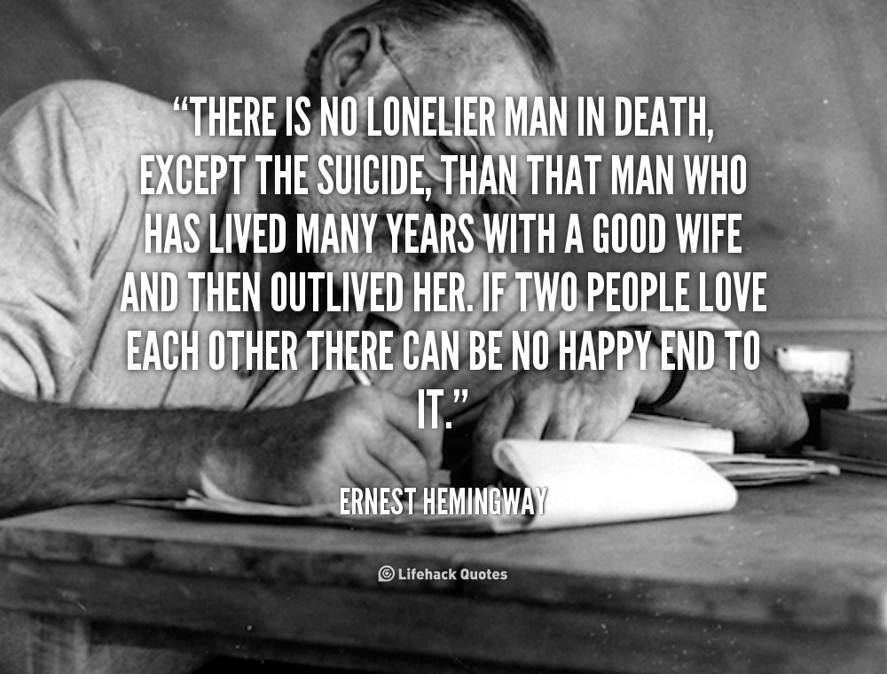 Quotes About Love: Ernest Hemingway Quotes About Love. QuotesGram