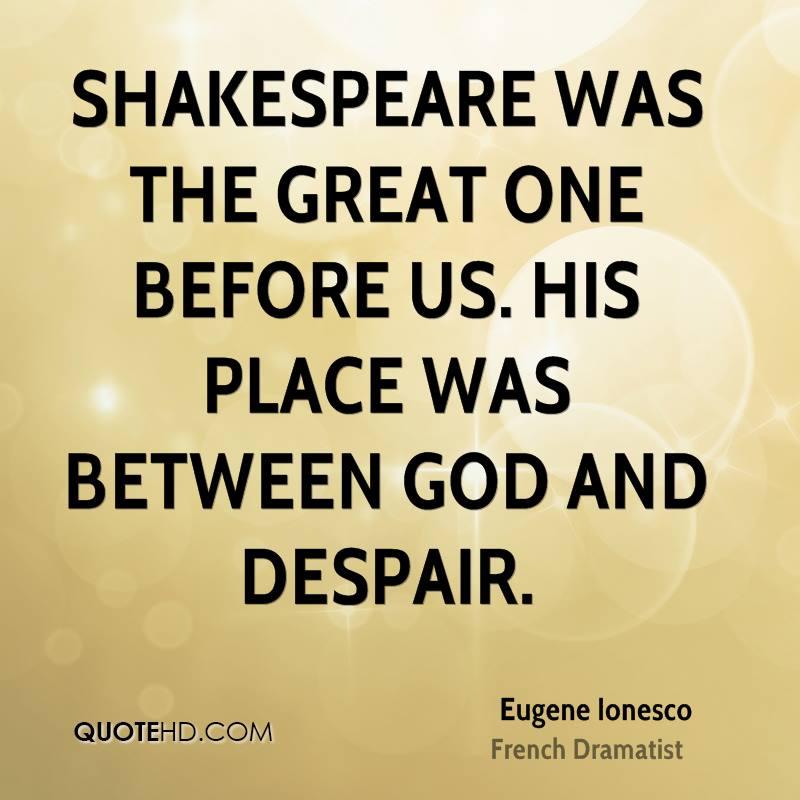 Despair Quotes: Shakespeare Quotes Despair. QuotesGram