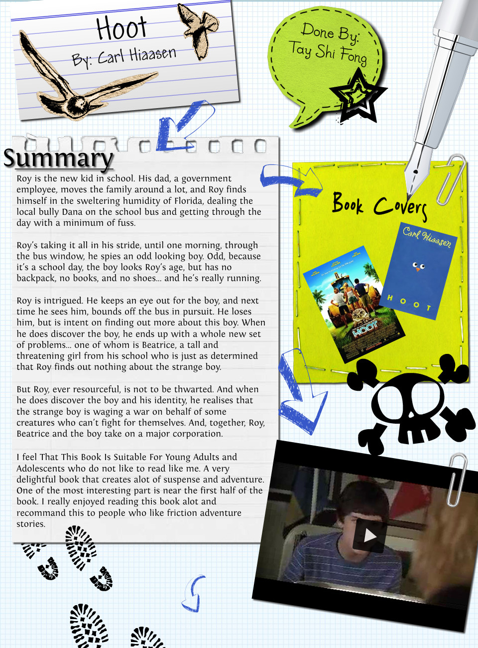 Hoot book report