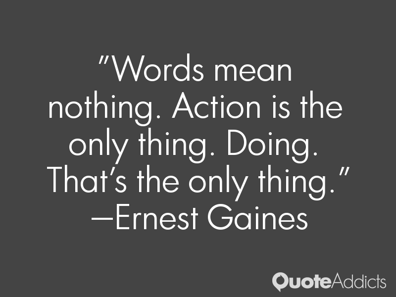 Quotes That Mean Nothing: Words Mean Nothing Quotes. QuotesGram