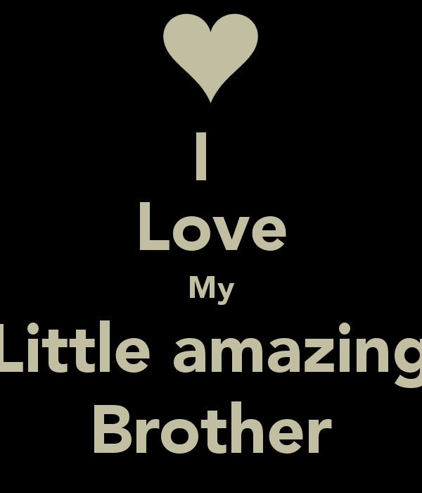 I Love My Siblings Quotes: I Love My Little Brother Quotes. QuotesGram