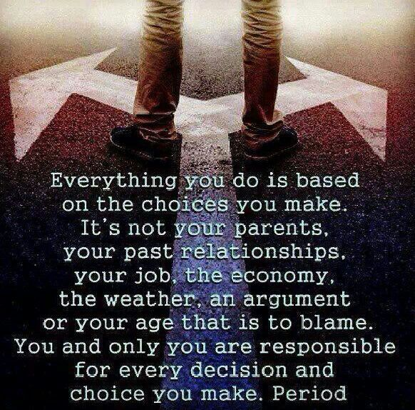 Making Your Own Choices Quotes. QuotesGram