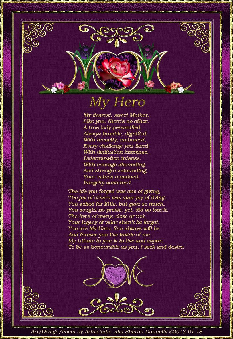 my mother my superhero essay
