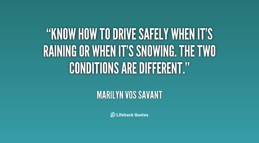 Safe Driving Quotes Quotesgram