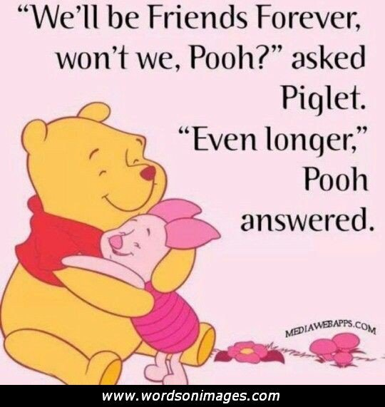 Winnie The Pooh Friends Quote: Friendship Quotes From Winnie The Pooh. QuotesGram