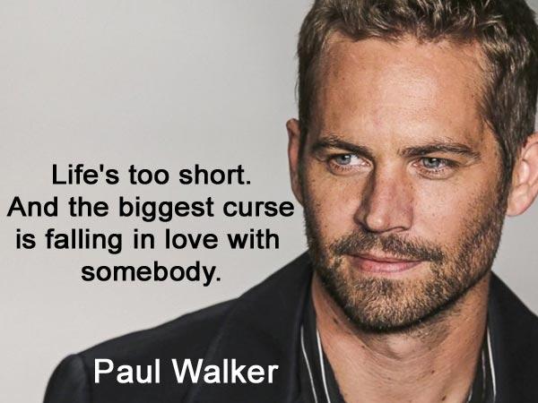 Furious 7 Paul Walker Quotes Quotesgram: Paul Walker Famous Quotes. QuotesGram