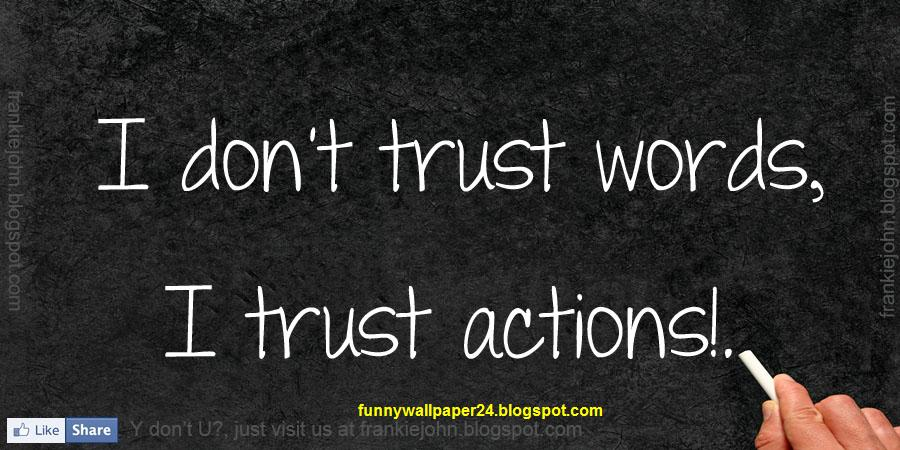 quotations on trust - photo #42