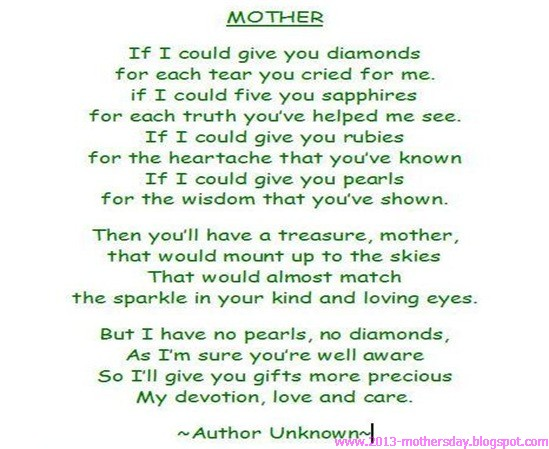 New Mom Poems And Quotes Quotesgram