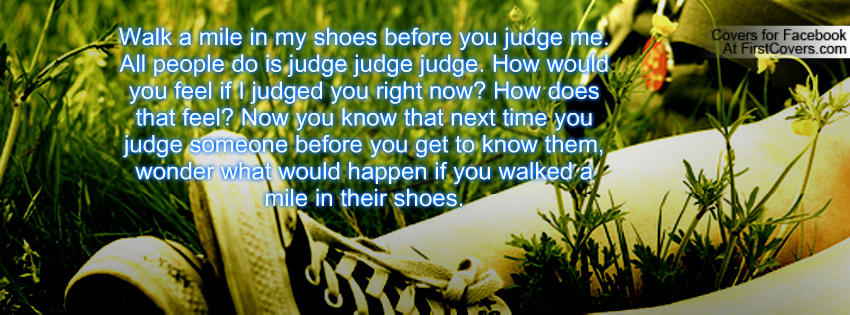 walking in your shoes quotes quotesgram