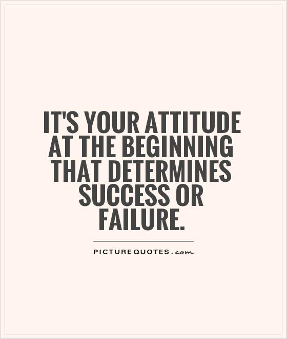 positive attitude quotes for success quotesgram