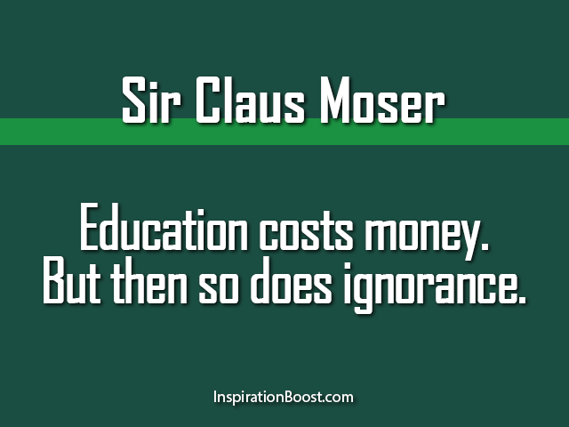 education and ignorance