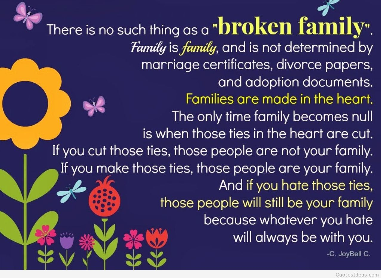 Sad Quotes About Family: Goodbye Sad Quotes Broken. QuotesGram