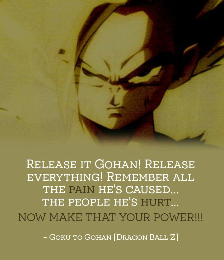 Quotes From Dragon Ball Z. QuotesGram