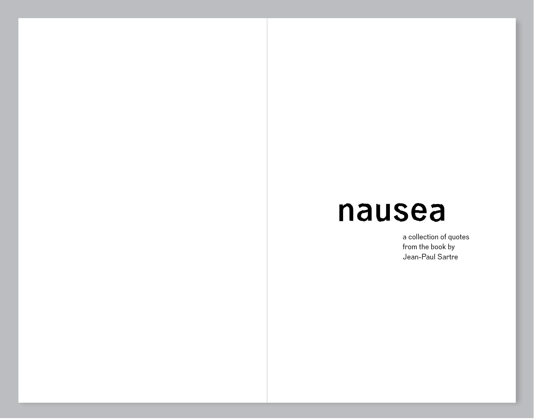 Nausea Sartre Quotes. QuotesGram