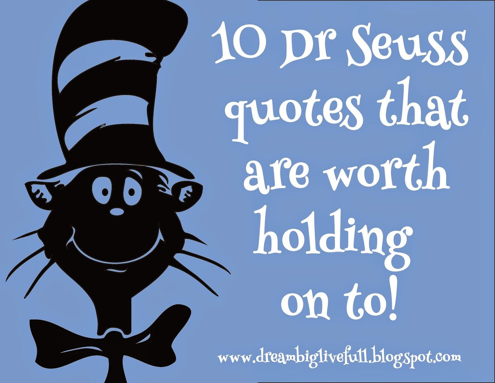 Dr Seuss Quotes About Cats. QuotesGram