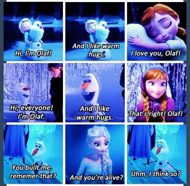 Disney Frozen Quotes Olaf. QuotesGram