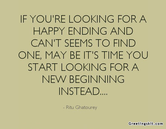 happy ending quotes quotesgram