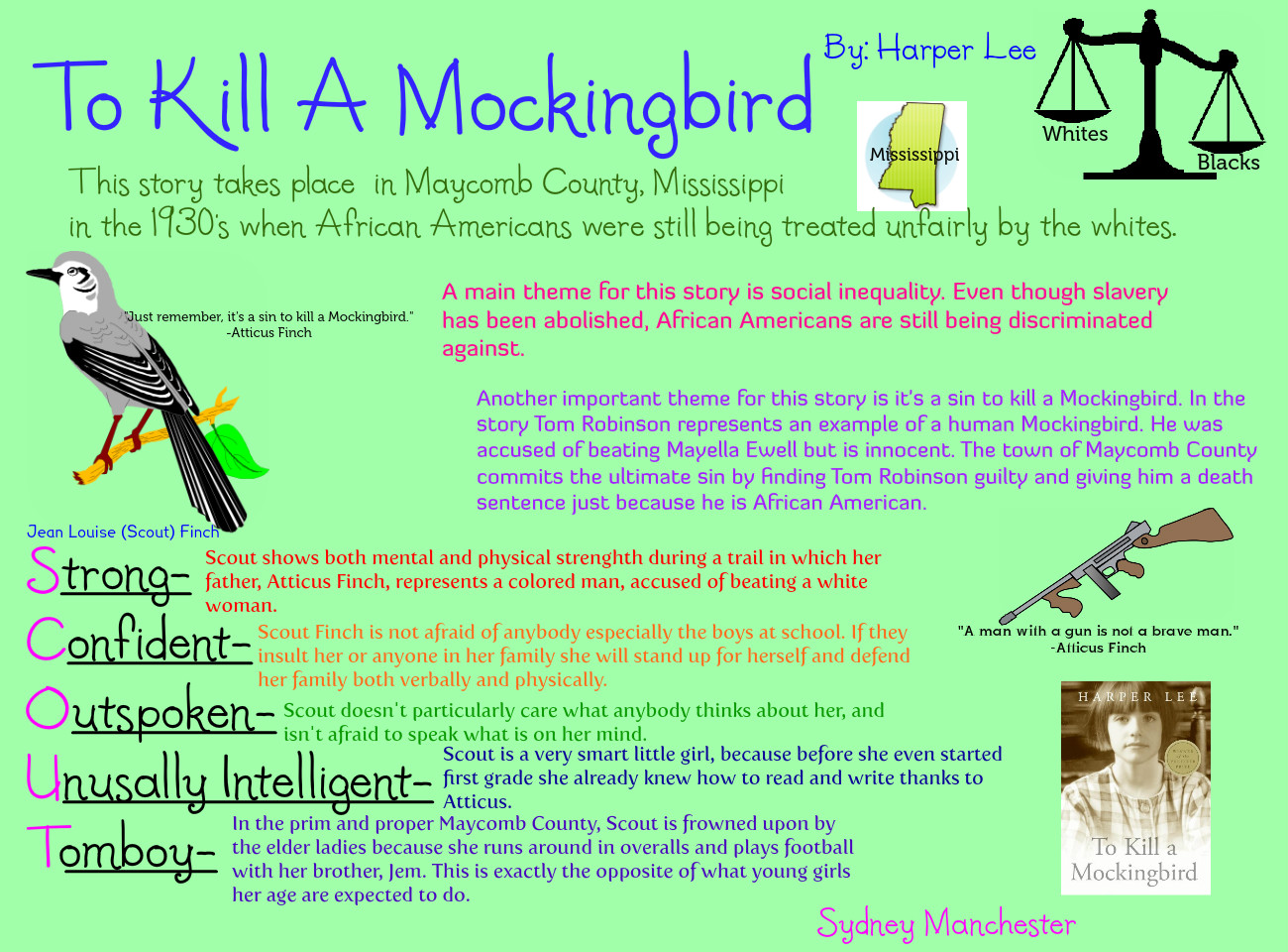 to kill a mockingbird the influences Polls rank to kill a mockingbird second only behind the bible as the book that makes the most difference in people's lives more than fifty years.