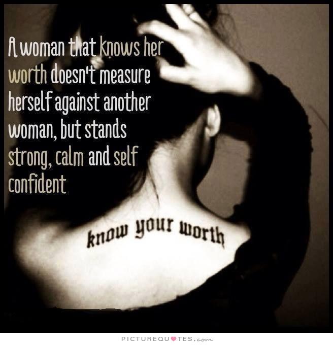 Self Worth Quotes For Women  Quotesgram