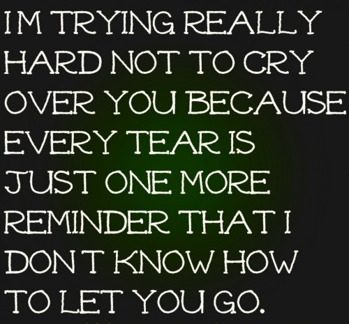 Quotes About Crying: Im Crying Because Of You Quotes. QuotesGram