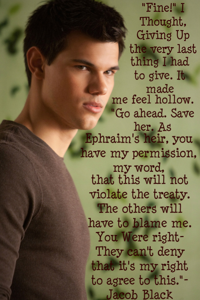 Quotes From Breaking Dawn Jacob Black. QuotesGram
