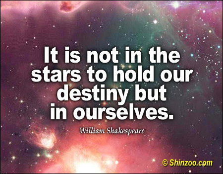 brutus destiny 163 quotes from julius caesar: 'the fault, dear brutus, is not in our stars, but in ourselves'.