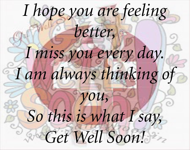 I Hope You Feel Better Quotes. QuotesGram