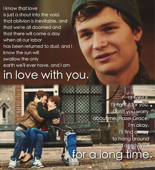 relationshipsmovie the fault in our A summary of themes in john green's the fault in our stars learn exactly what happened in this chapter, scene and that what makes our lives matter are the relationships we form as augustus learns.