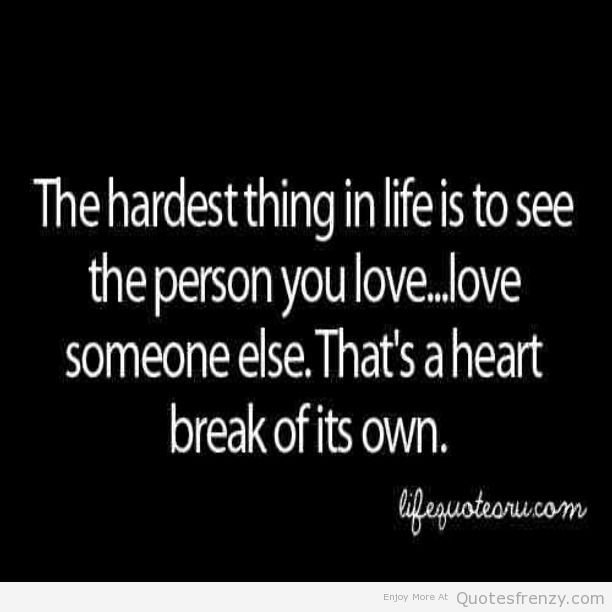 Sad Quotes About Love: Depressing Quotes About Heartbreak. QuotesGram