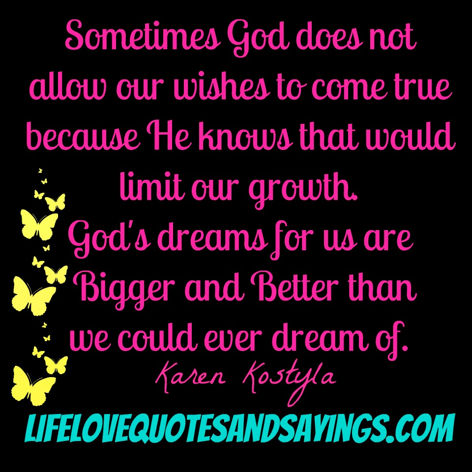 God Wishes Quotes. QuotesGram